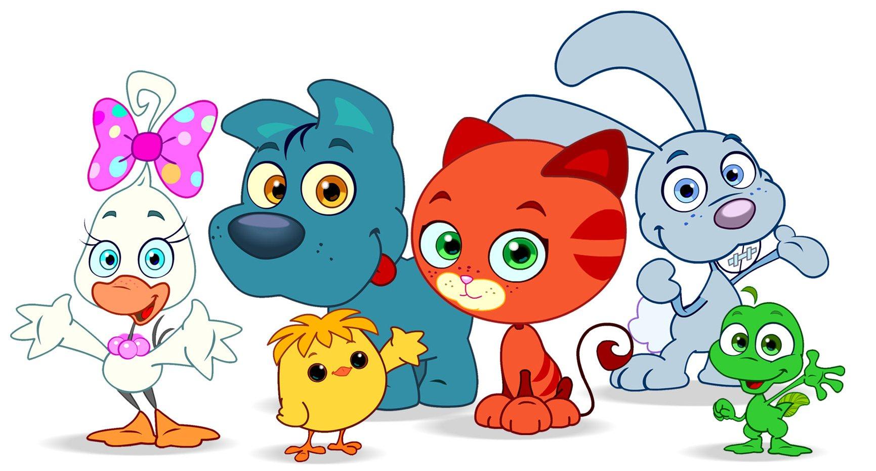 I mini cuccioli arrivano su rai yoyo fenix studios srl